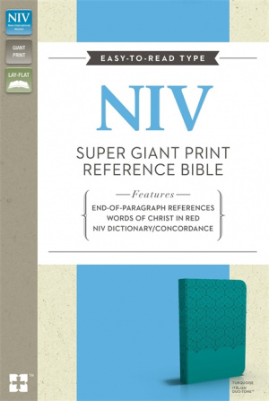 NIV Super Giant Print Reference Bible