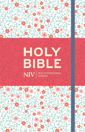 NIV Thinline Floral Bible