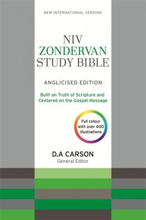NIV Study Bible - UK Spelling