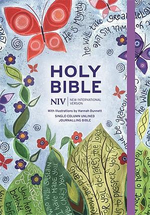 NIV Journaling Bible Illustrated by Hannah Dunnett