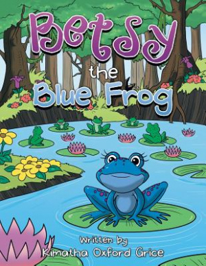 Betsy the Blue Frog