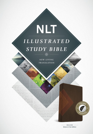 Illustrated Study Bible NLT, TuTone