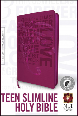 NLT Teen Pink Slim Bible