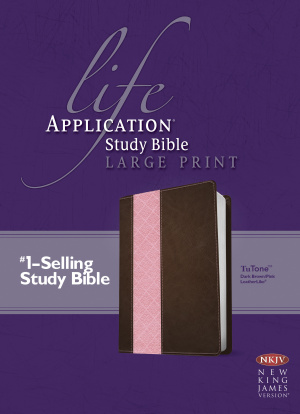 Life Application Study Bible NKJV, Large Print, TuTone