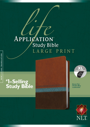 Life Application Study Bible NLT, Large Print