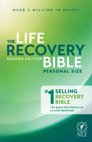 NLT Life Recovery Bible Personal Size