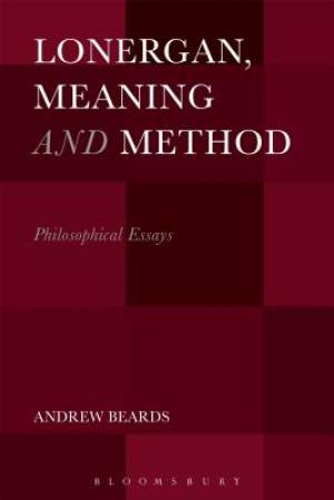 Lonergan, Meaning and Method
