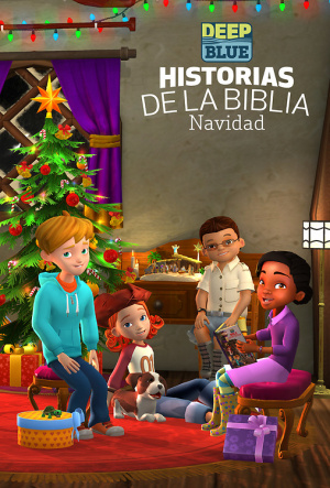 DEEP BLUE BIBLE STORYBOOK CHRISTMAS EDITION - SPANISH