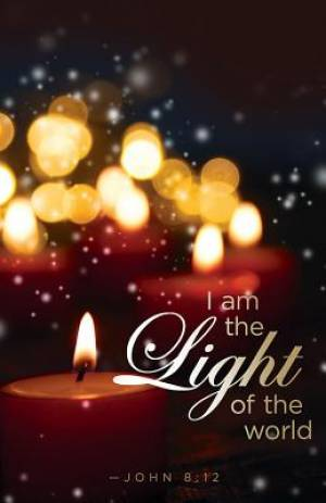 I Am the Light Candlelighting Christmas Bulletin (Pkg of 50)