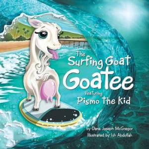 The Surfing Goat Goatee Featuring Pismo the Kid