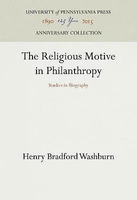 The Religious Motive in Philanthropy
