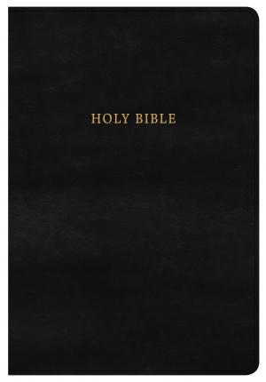 KJV Super Giant Print Reference Bible, Classic Black