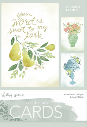 Your Word Boxed Greeting Cards