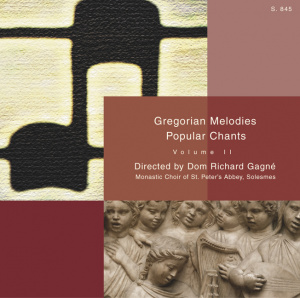 Gregorian Melodies, Popular Chants