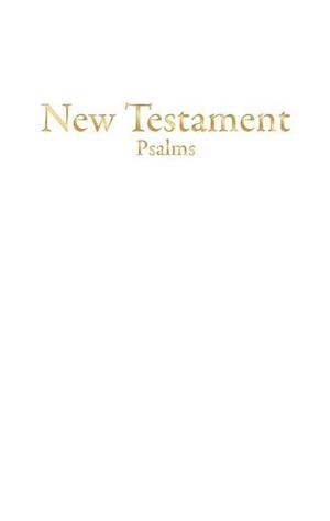 Bible KJV Economy New Testament White Imitation Leather