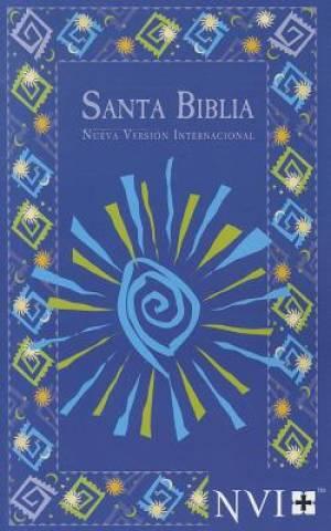 NVI Spanish Bible - Blue Fiesta