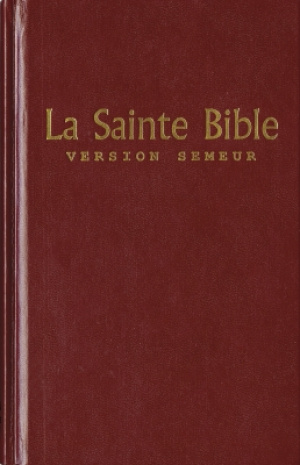French Bible La Sainte Bible Hardback