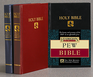 NRSV Pew Bible: Black, Hardback
