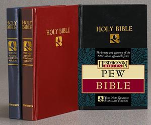 NRSV Pew Bible: Black, Hardback