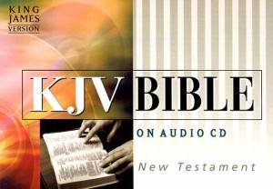 KJV New Testament on Audio CD