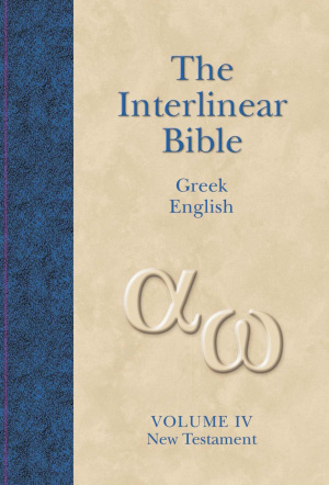 Interlinear Greek - English New Testament Vol 4
