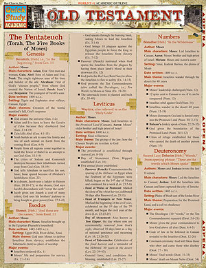 Old Testament:Quick Study Guide