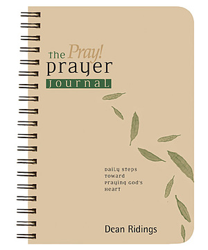 Pray Prayer Journal paperback