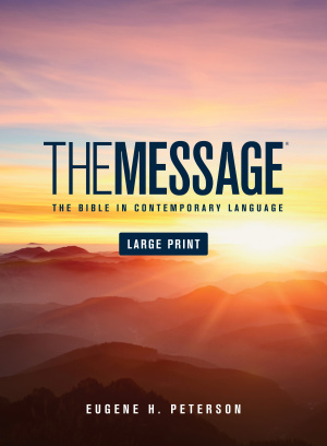 The Message Large Print: Hardback