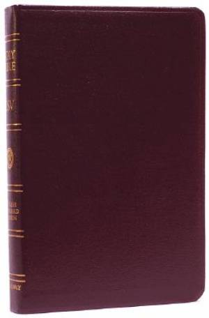 ESV Reference Bible: Burgundy, Bonded Leather