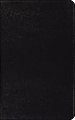 ESV Thinline Bible: Black