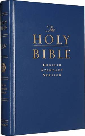 ESV Pew and Worship Bible: Blue, Hardback