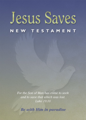 Jesus Saves New Testament
