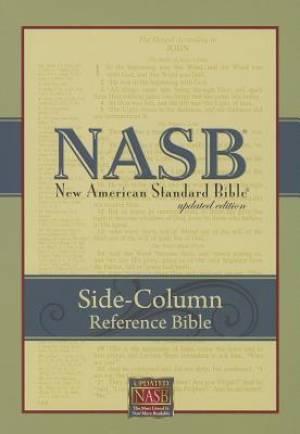 NASB Side-Column Reference Wide Margin Bible, Black
