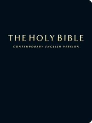 CEV Compact Bible Black Bonded Leather