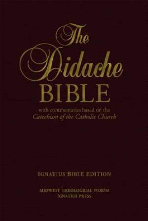 RSV The Didache Bible: Genuine Leather