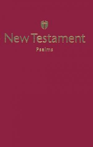 NCSB New Testament with Psalms Economy Softcover Burgundy