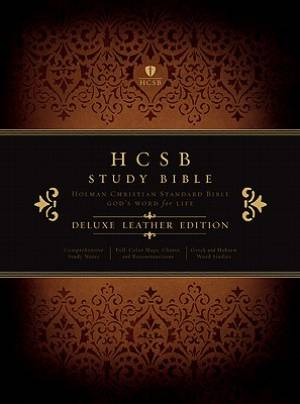 Hcsb Study Bible Black Deluxe Leather