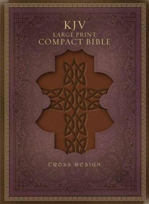 KJV Large Print Compact Bible: Brown Imitation Leather