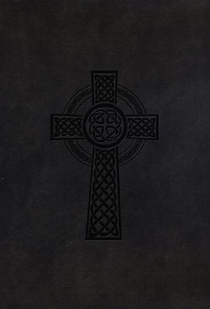 HCSB Classic Personal Size Bible-Black Celtic Cross