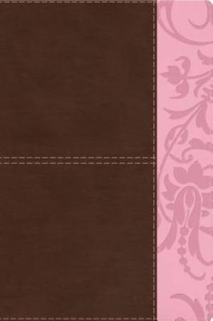 Study Bible For Women, Brown/Pink Leathertouch Indexed