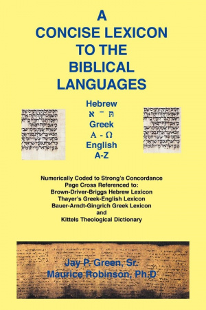 Concise Lexicon to the Biblical Languages