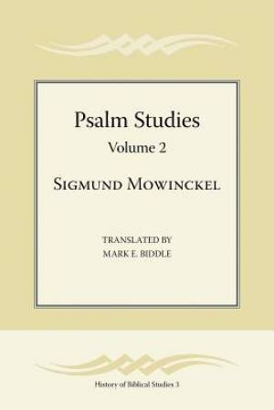 Psalm Studies, Volume 2