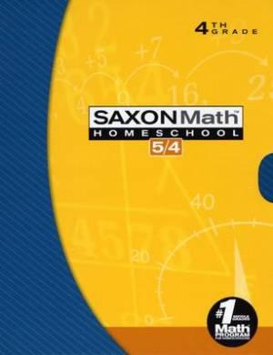 Saxon Math 54 Home Study Kit Boxed