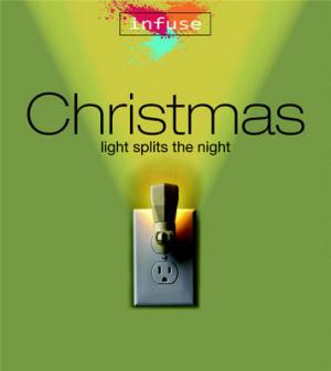 Christmas Light Splits The Night