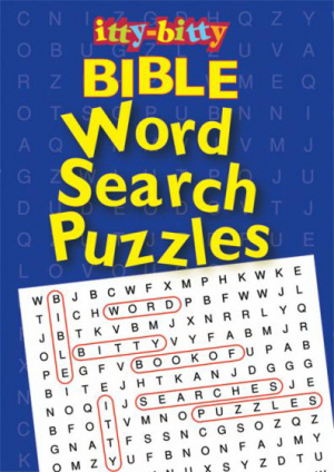 Itty Bitty: Bible Word Search Puzzles