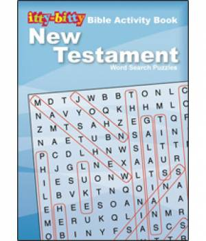 New Testament Word Search Puzzles Pack of 6