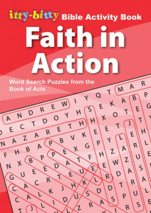 Itty Bitty: Faith in Action Word Search Puzzles