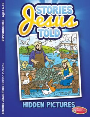 Stories Jesus Told Hidden Pictures Activity Book