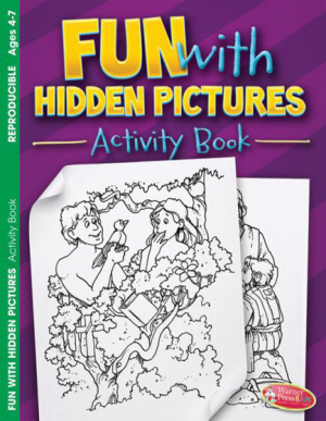 Fun With Hidden Pictures Activity Book