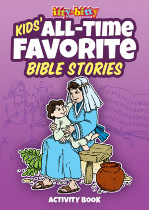 Itty Bitty: Kids' All-Time Favourite Bible Stories Activity